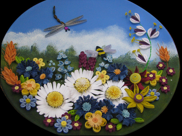Картины лета своими руками