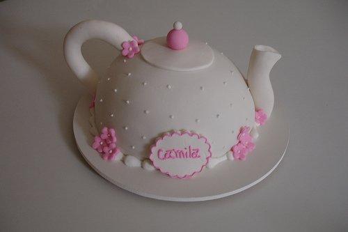 как сделать тортик чайник мастер класс