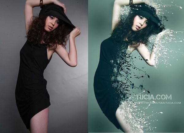 """Художественная обработка фото в фотошопе Слева -  """"что было """", - справа  """"что получилось """" из фото после обработки в..."""