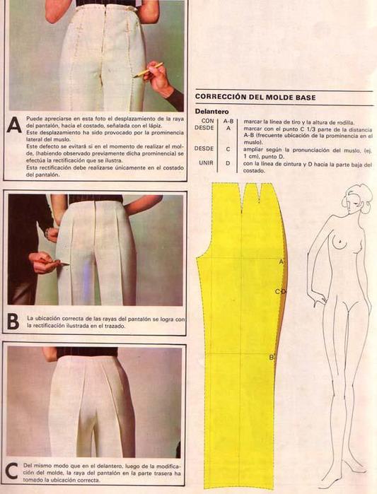 выкройка брюк при кривых ногах аренду