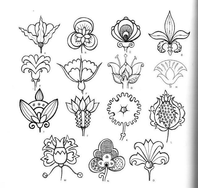 Стилизованные цветы.  8 комментариев.  Grach, 8 October, 2007
