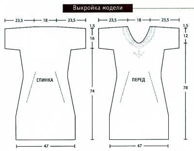 схемы шитья платьев