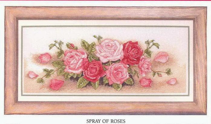 Evmochka ваши розы.Скачать файл Anchor PCE721 Spray of Roses.xsd.