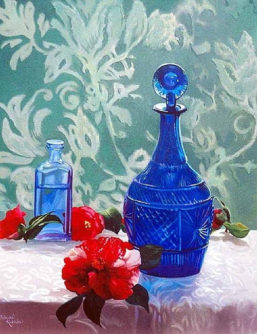 kykolnik В вазе синего стекла. 6