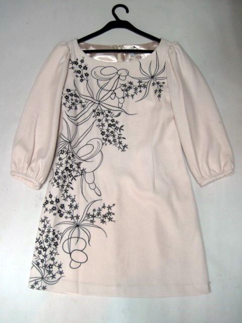 Платье с сутажной вышивкой 53