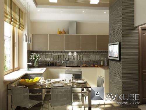 Дизайн кухни 7 метров фото