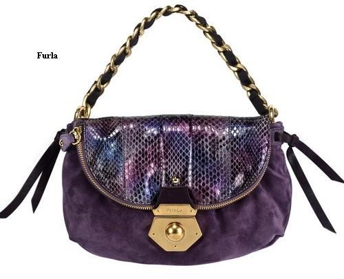 сумка на цепочке от Furla. сумка на цепочке от Фурла.