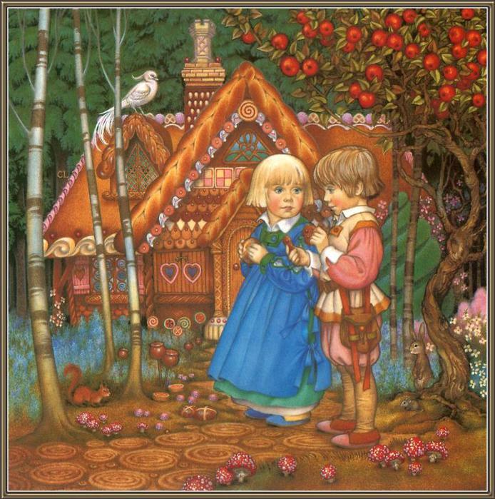 Представляю вашему вниманию Сказочные иллюстрации от.  Carol Lawson.