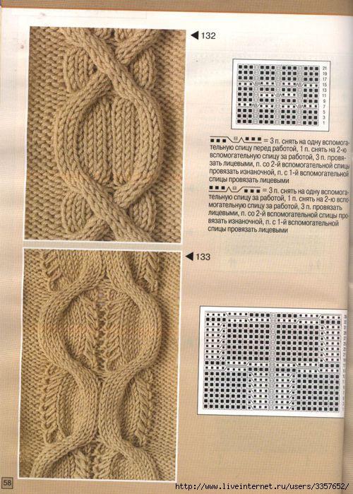 Серия сообщений.  Техника вязания спицами.