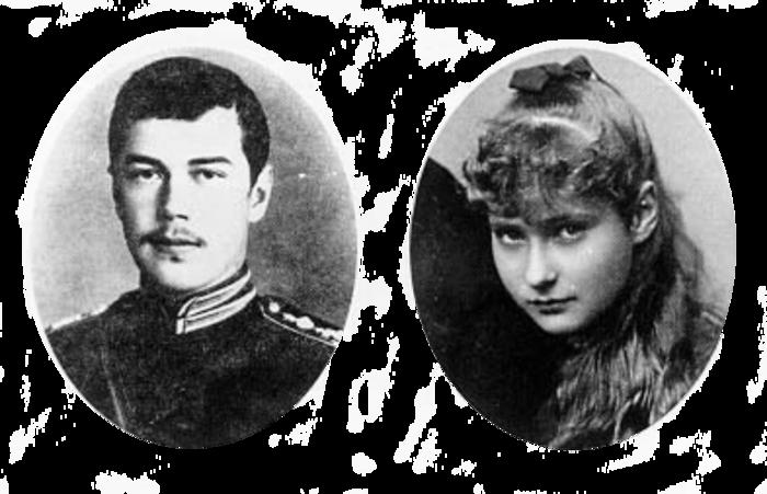 Состоялась церемония бракосочетания Николая II с принцессой Гессен-Дармштадтской