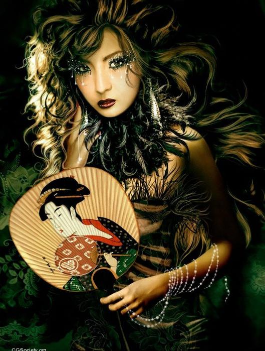Красота женщины на картинах художников