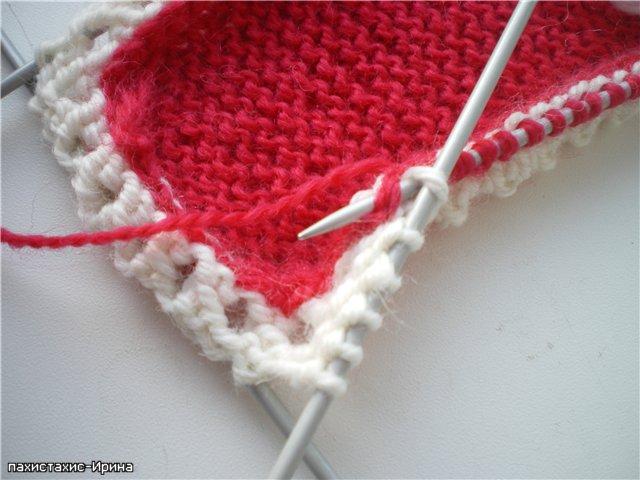 схема вязания пинеток на спицах.