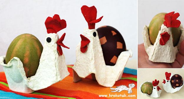 Упаковка для пасхальных яиц своими руками - Поделки