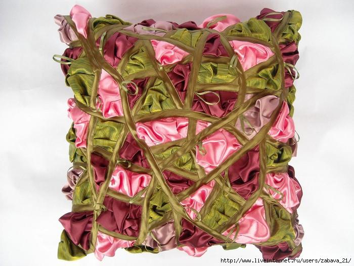 Декоративные подушки буфы своими руками мастер класс