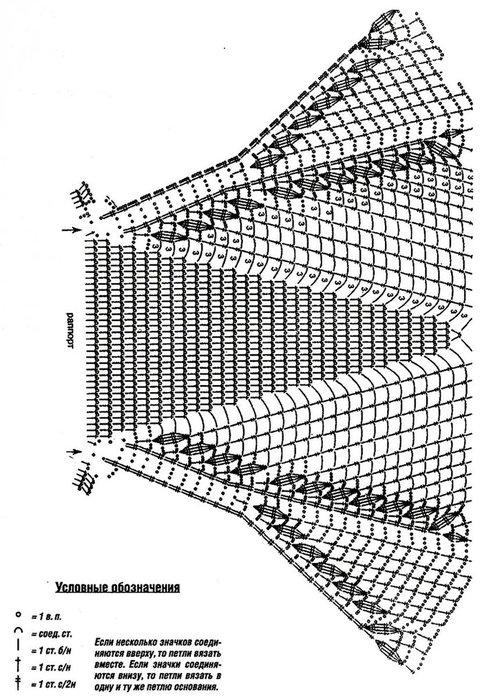Вязанные квадраты на спицах