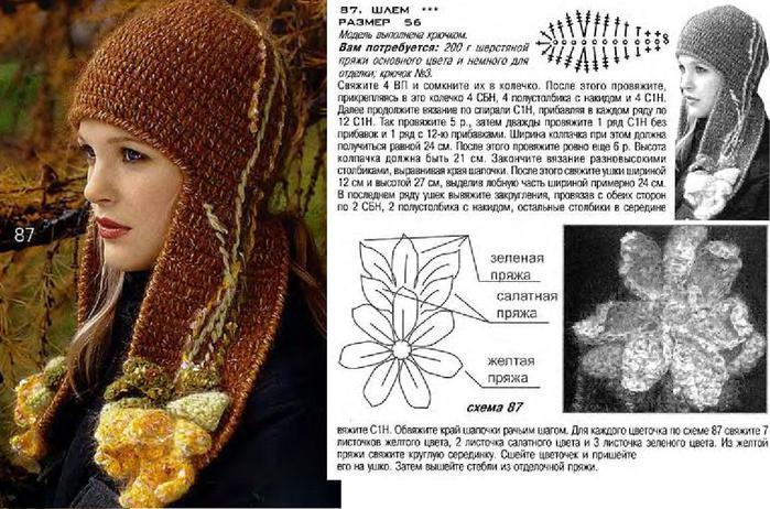 Шапки - ушанки зима, осень описание взято с сайта страна мам.ру.