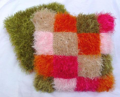 Шапки из вязаного меха (женские и детские).  Доступные цены.