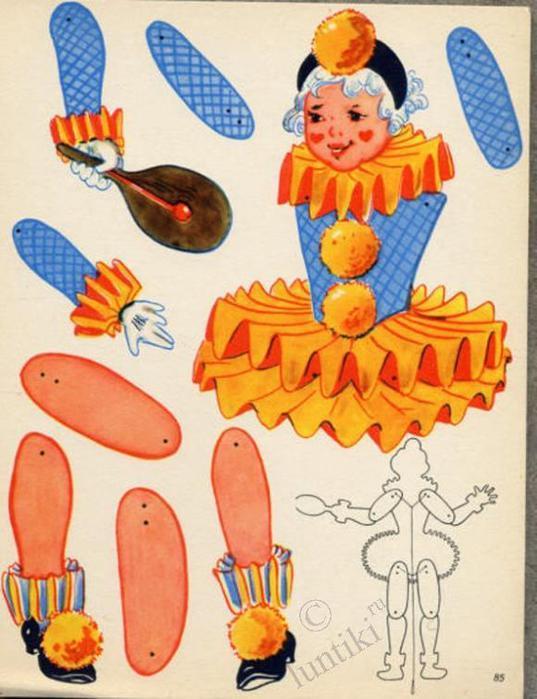 Кукла подвижная своими руками