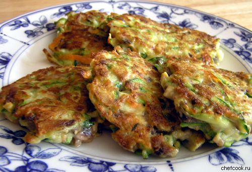 Блюдо из кабачка рецепт