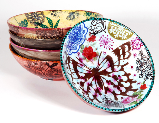 Роспись на керамике своими руками