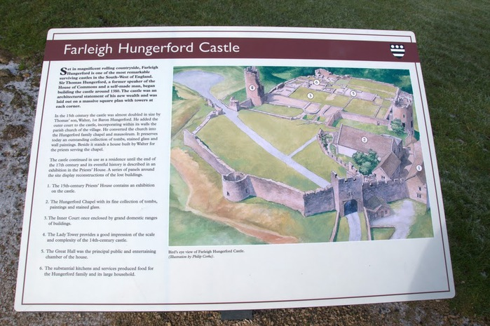 Замок Фарлейг Хангерфорд - Farleigh Hungerford Castle 36475