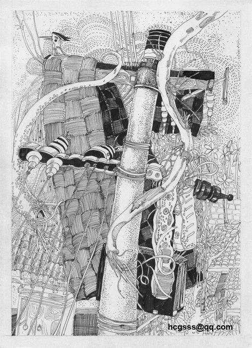 Иллюстрации и графика от huangchaogui 32