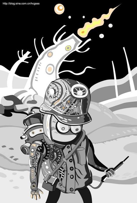 Иллюстрации и графика от huangchaogui 47