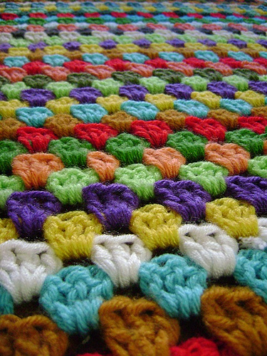 Вязание ковриков крючком - Вязание - фото из журналов