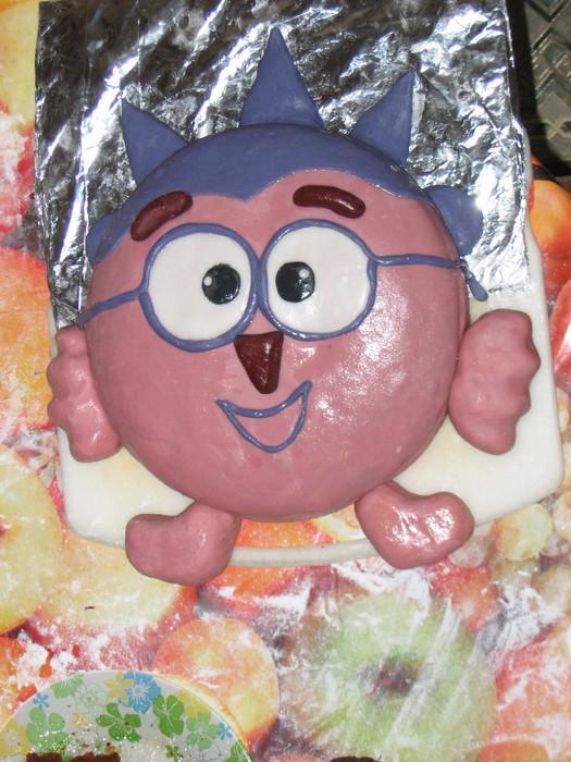 Фото торт ежик из смешариков