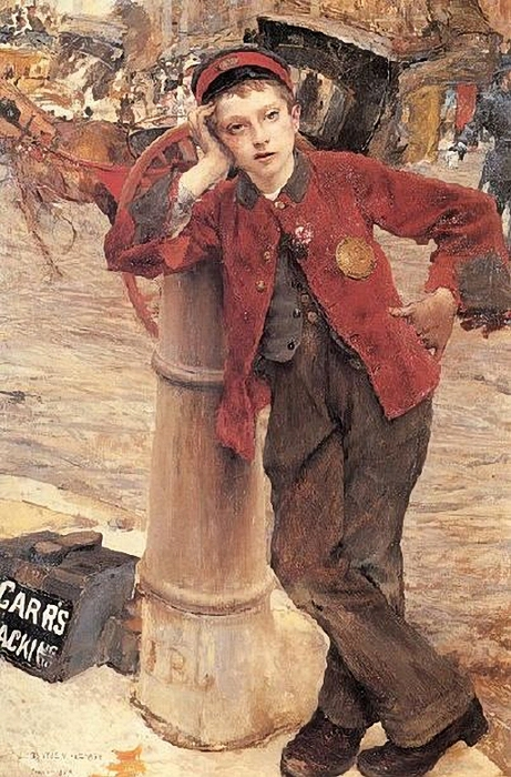Jules Bastien-Lepage (1848 � 1884, French)_london-bootblack (461x700, 300Kb)