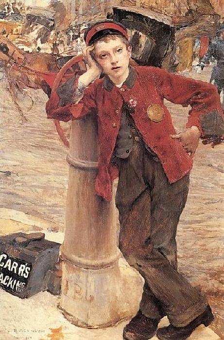 Jules Bastien-Lepage (1848 – 1884, French)_london-bootblack (461x700, 300Kb)