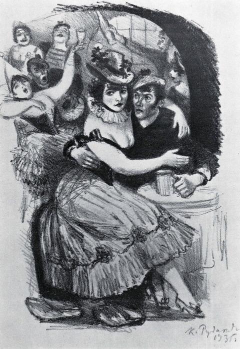 К рассказу ги де мопассана в порту 1935