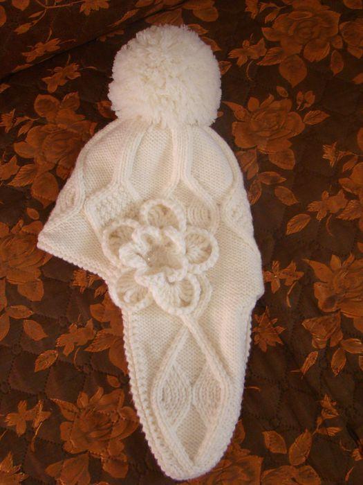 """针织儿童帽子:""""冬季童话"""" - maomao - 我随心动"""