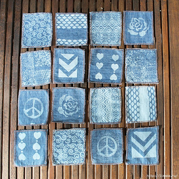 Old-Jeans-Made-into-Denim-Napkins (600x600, 393Kb)