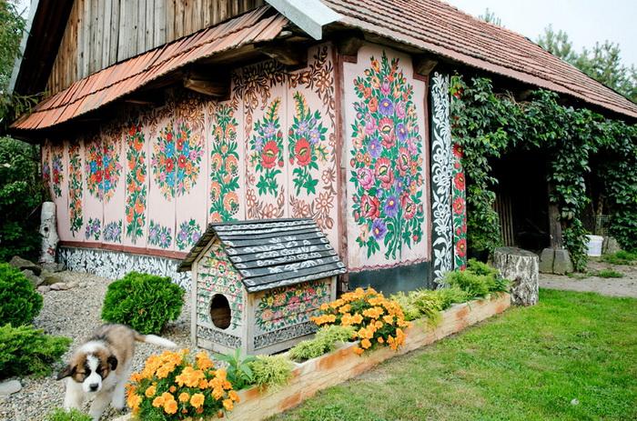 старинные украинские хаты