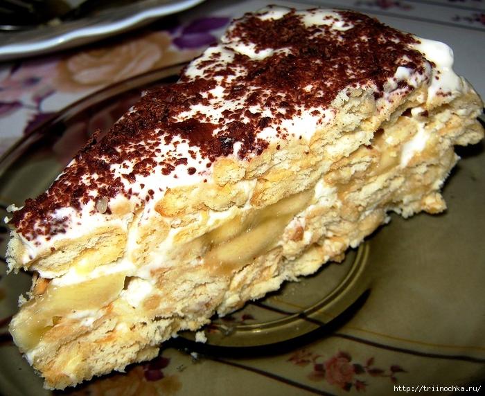 Вкуснота, даже не догадаетесь!Торт без выпечки, из крекеров!