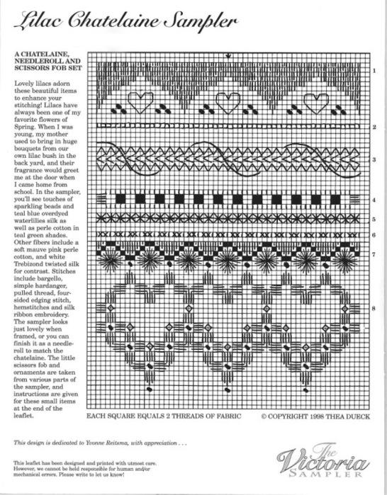 Victoria sampler схемы