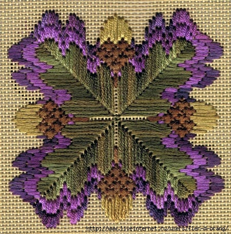 oak-leaf-bargello (450x455, 217Kb)