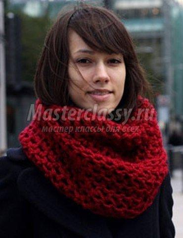 Вязание шарфов/