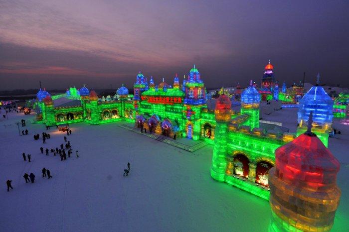 фестиваль ледяных скульптур харбина 10 (700x466, 248Kb)