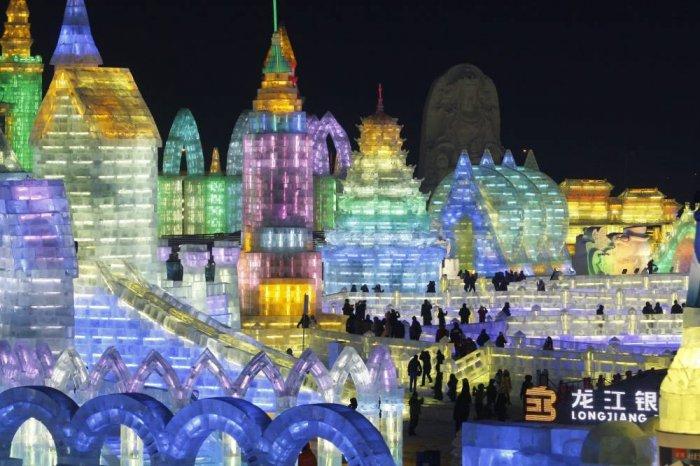 фестиваль ледяных скульптур харбина 12 (700x466, 300Kb)