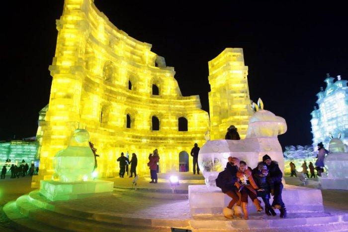 фестиваль ледяных скульптур харбина 14 (700x466, 257Kb)