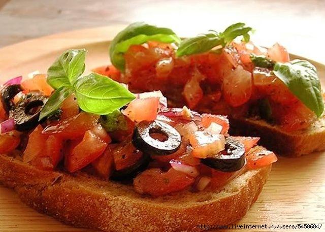 Итальянская кухня рецепты с фото