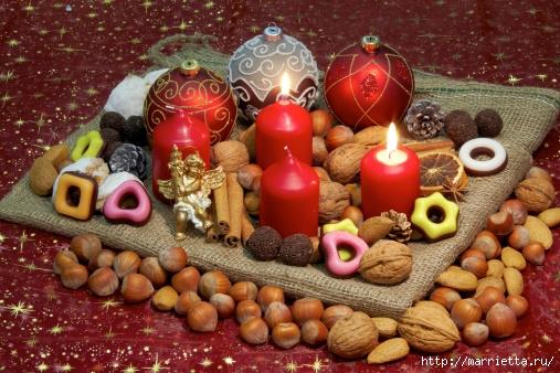 рождественский венок из грецких орехов (11) (507x338, 201Kb)