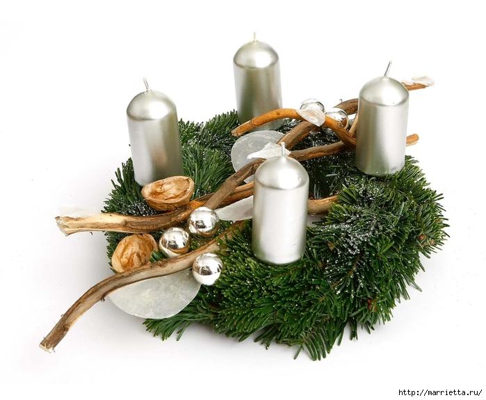 рождественский венок из грецких орехов (20) (700x575, 219Kb)