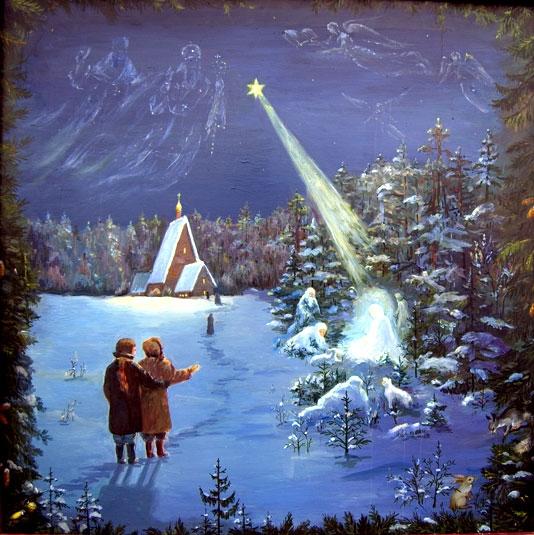 Рождество в живописи1 (534x535, 236Kb)