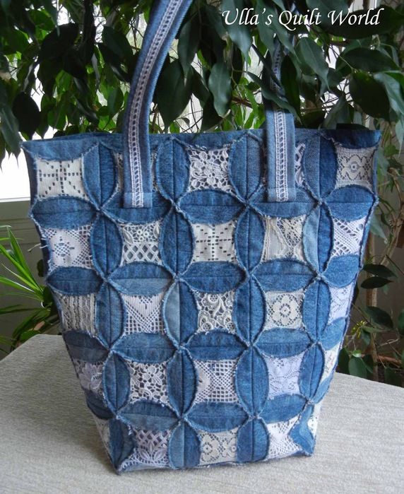 02 DSCN7050 Quilted pouch and bag + Cathedral window quilt bag (572x700, 171Kb)