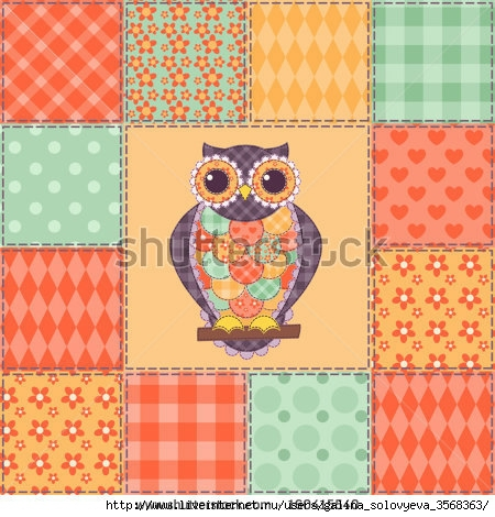 stock-vector-seamless-patchwork-owl-pattern-vector-background-160415540 (450x470, 173Kb)