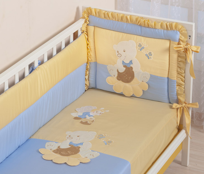 Фото бортики в кроватку для новорожденных своими руками выкройки
