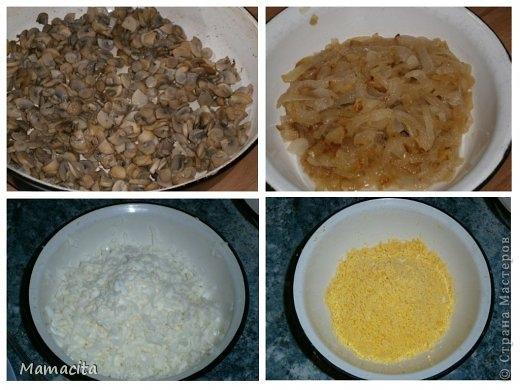 Грибной салат в праздничном оформлении (3) (520x390, 124Kb)
